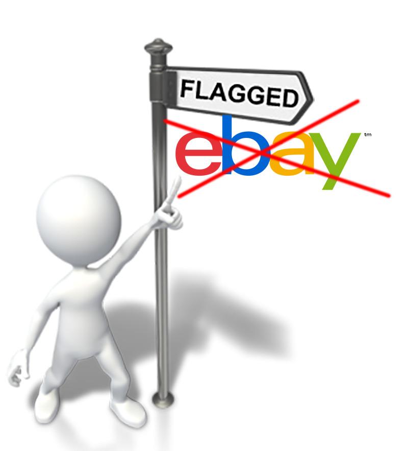 Възстановяване на флагнат eBay акаунт